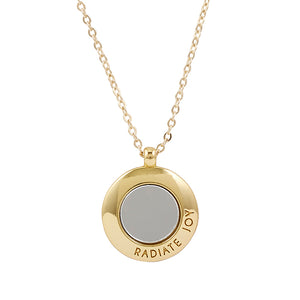 Radiate Joy Mirror Necklace