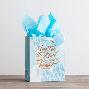 Trust in the Lord - Medium Gift Bag with Tissue