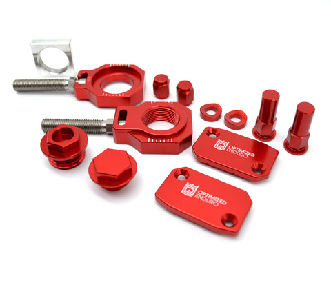 Optimized Enduro Bling Kit 2021 GasGas EX/MC Red