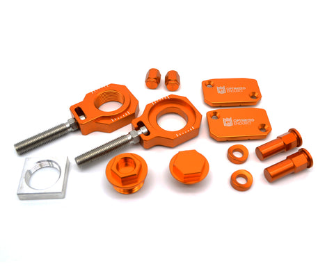 Optimized Enduro Bling Kit KTM SX/SX-F/XC/XC-F 2014-2021 Orange