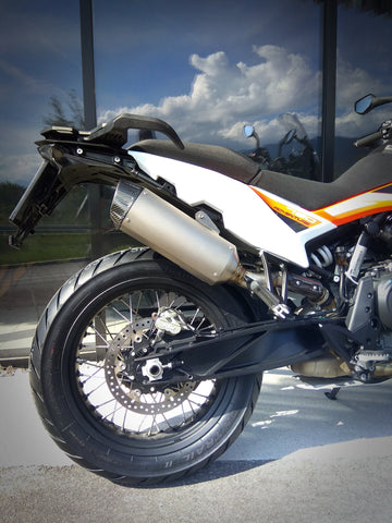 COOBER Titanium Slip-on Exhaust for KTM 790 Adventure