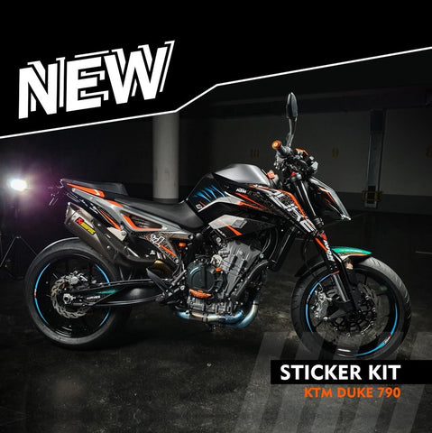 Bagoros Performance Graphics Kit KTM 790 Duke