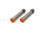 Optimized Enduro™ Stainless Footpeg Bolt Set for 2010-2021 KTM Orange