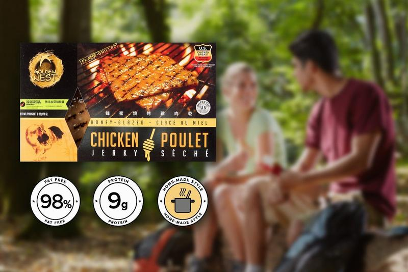 Golden Nest Chicken Jerky - Honey Glazed - 6 oz.