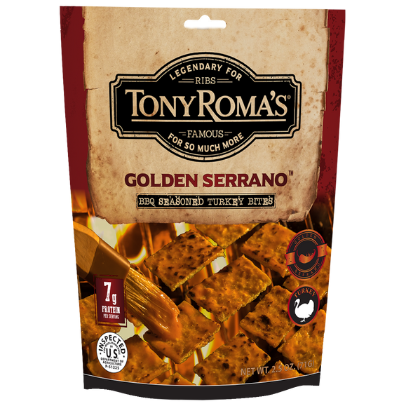Tony Roma's Golden Serrano BBQ Turkey Bites