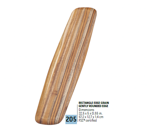 205 Elegant, Rectangle Edge Grain | Teakhaus