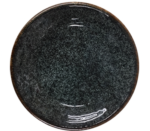 "10 5/8"" Black Coupe Plate 