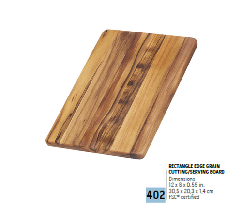 402 Essential, Rectangle Edge Grain | Teakhaus