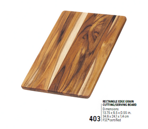 403 Essential, Rectangle Edge Grain | Teakhaus