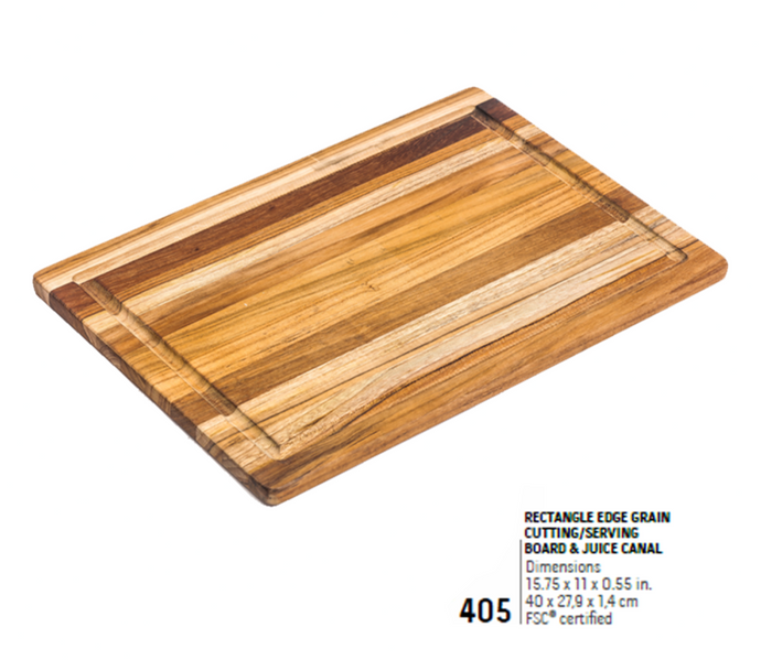 405 Essential, Rectangle Edge Grain | Teakhaus
