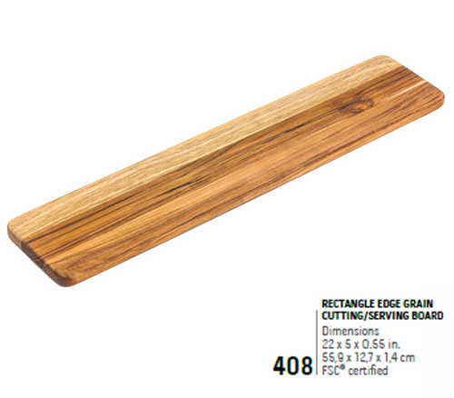 408 Essential, Rectangle Edge Grain | Teakhaus