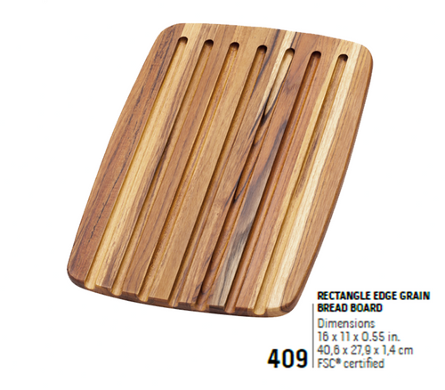 409 Essential, Rectangle Edge Grain | Teakhaus