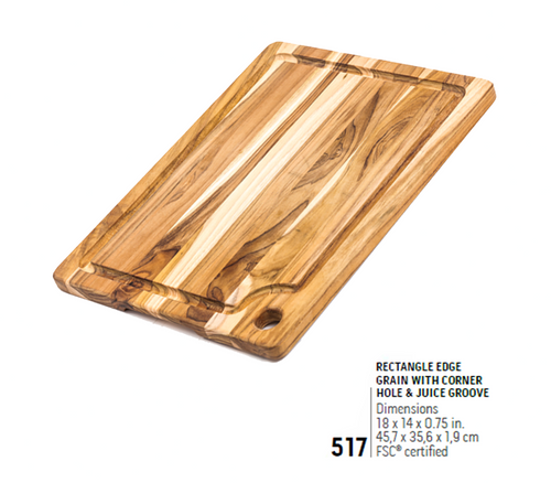 517 Marine, Rectangle Edge Grain | Teakhaus
