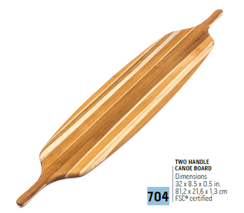 704 Canoe, Two Handle Canoe | Teakhaus