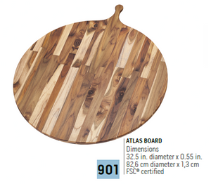 901 Specialty, Atlas Board | Teakhaus