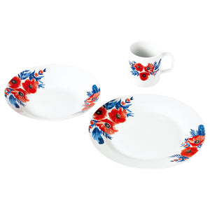 Porcelain Tableware 12 pieces | Eve