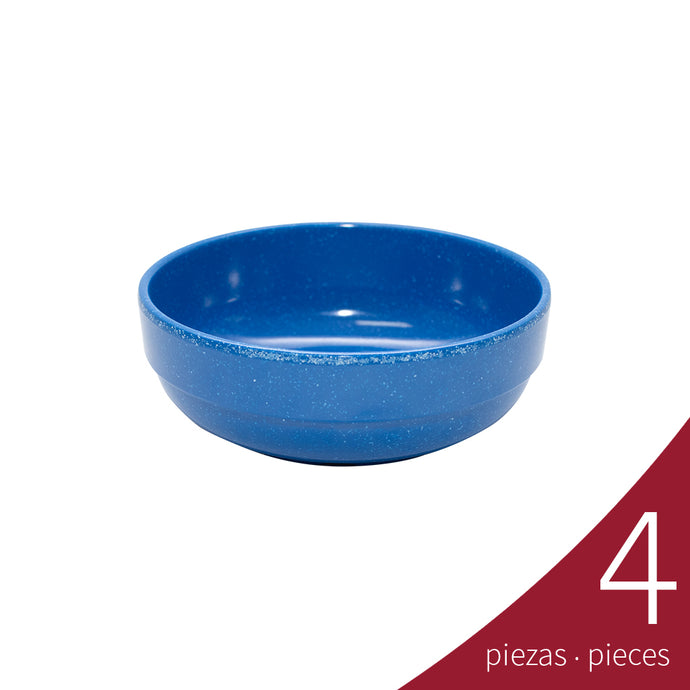 Bowl Embrocable Melamina 500 ml, Blue Granite | Tavola