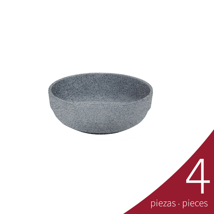 Bowl Embrocable 350 ml, Gray Granite | Tavola