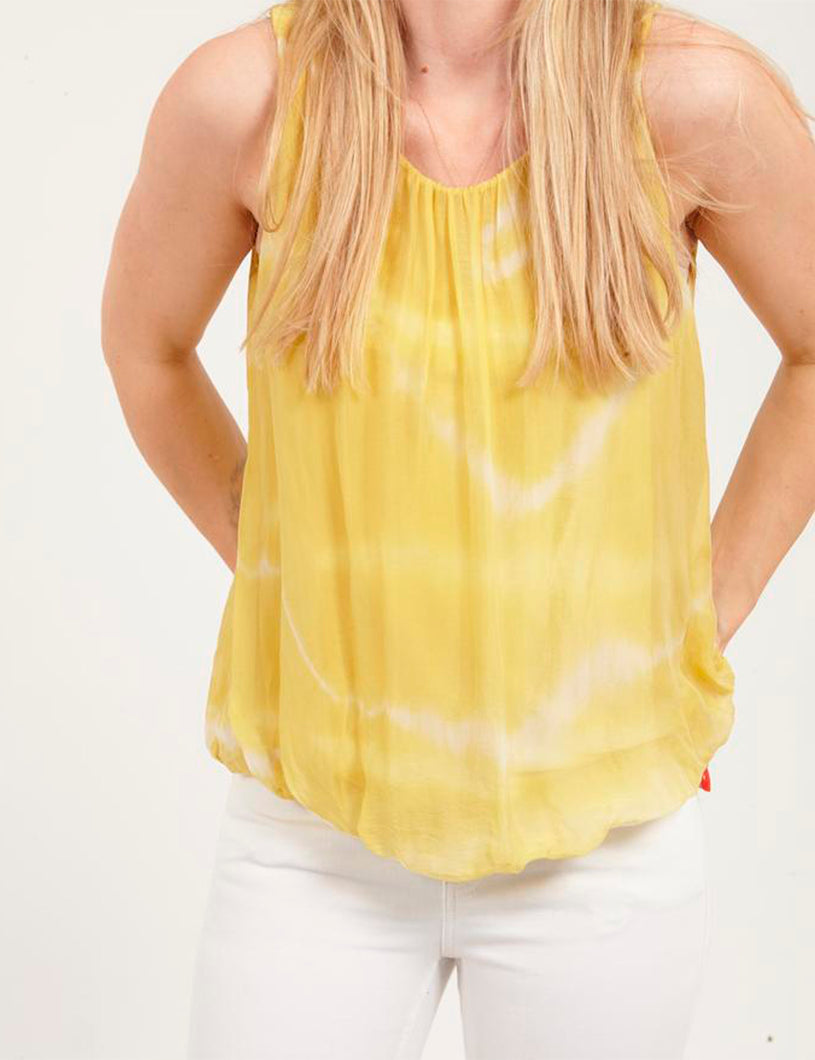 Top Tie Dye Yellow