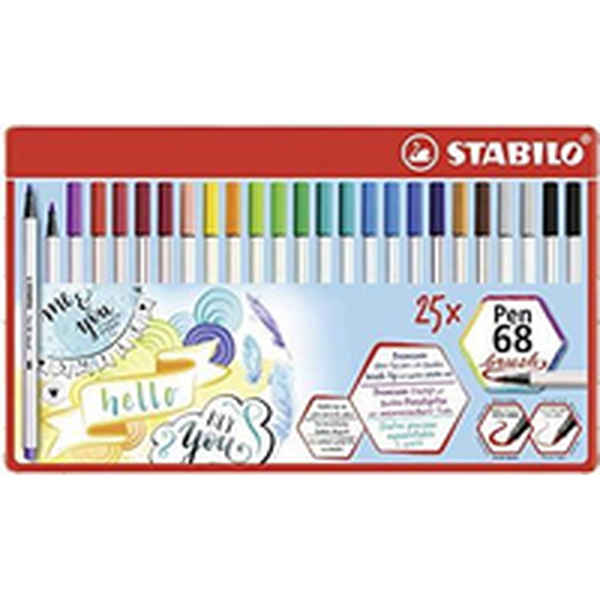 felt-tip pens Stabilo Pen 68 brush (Refurbished B)