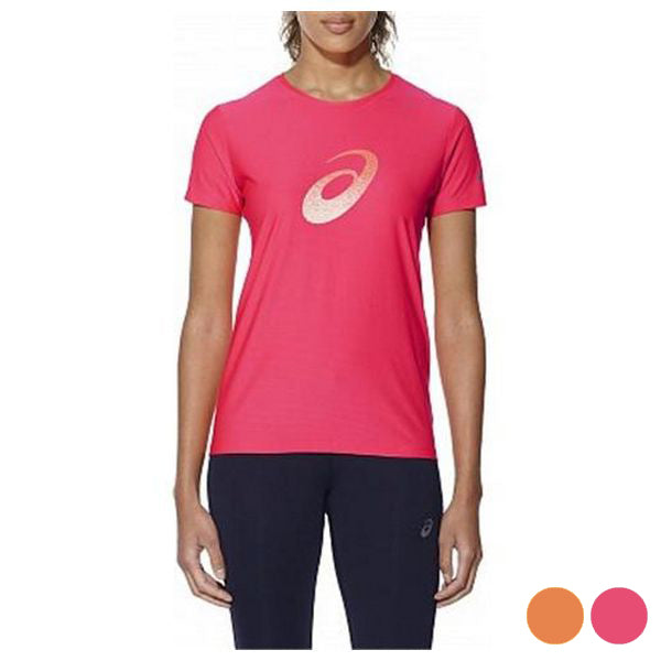 Women's Short Sleeve T-Shirt Asics GRAPHIC SS TOP