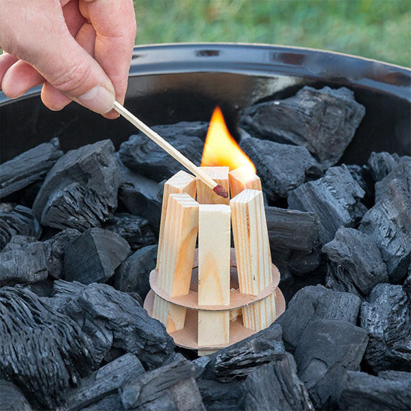 BBQ Classics Wood Fire Starter for Barbecues.