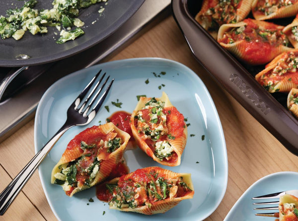 Spinach Ricotta Stuffed Shells