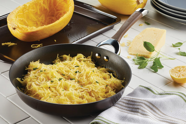 Spaghetti Squash with Sage Brown Butter