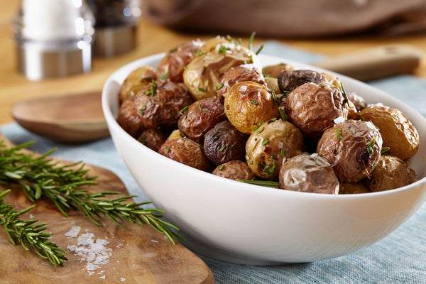 Roasted Small Potatoes with Fresh Rosemary