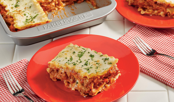 Lasagna Bolognese with All Day Sauce