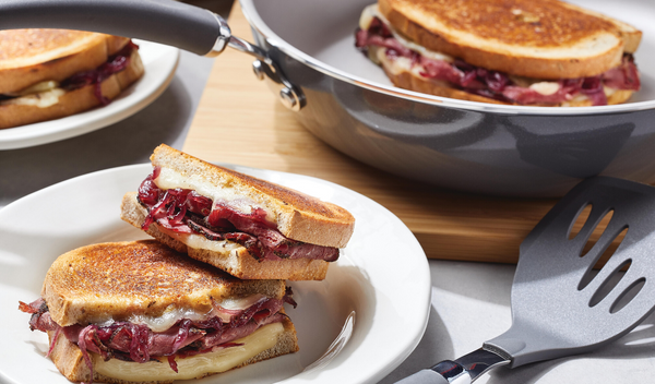 Umami Pastrami Grilled Cheese