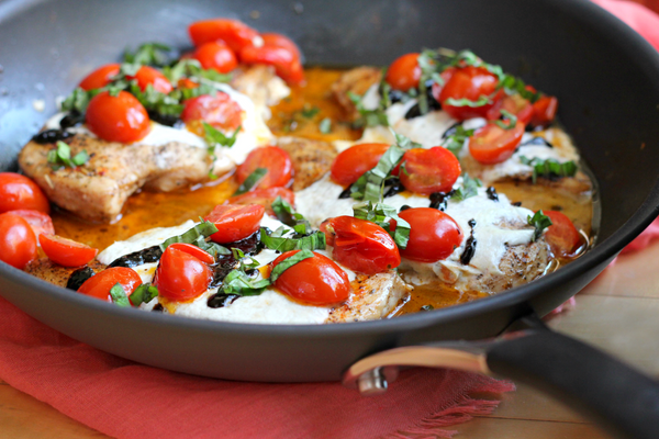 20-Minute Caprese Chicken