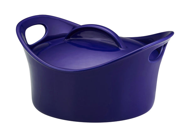 2.75-Quart Covered Round Casserole