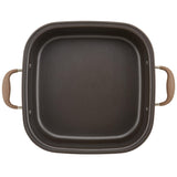 "Advanced 7-Qt. Square Dutch Oven and 11"" Grill Pan Lid"