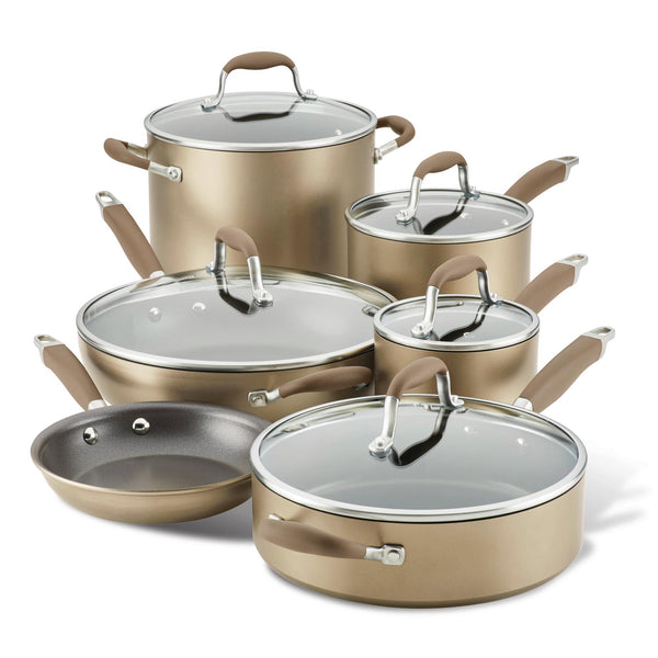 Advanced Home 11-Piece Cookware Set