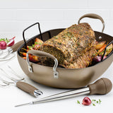 "Advanced Home 16"" x 13"" Roaster Set"