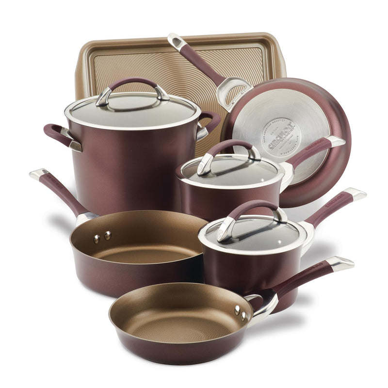 Symmetry 11-Piece Nonstick Cookware Set