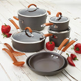 Cucina Hard Anodized 12-Piece Cookware Set