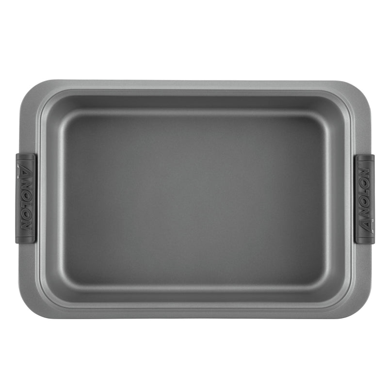 Advanced 3-Piece Bakeware Set with Silicone Grips