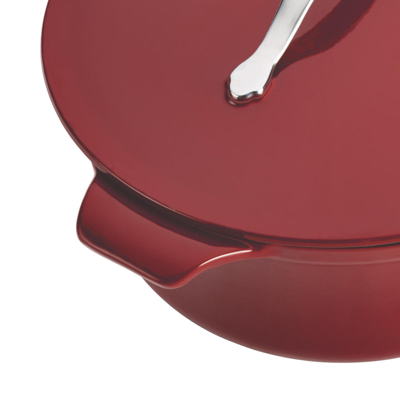 Vesta 4-Quart Oval Casserole with Lid