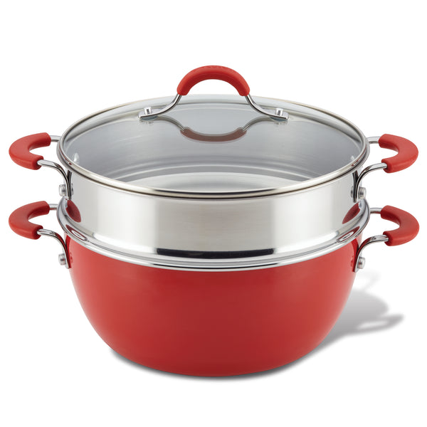 Innovatum Casserole with Steamer Basket