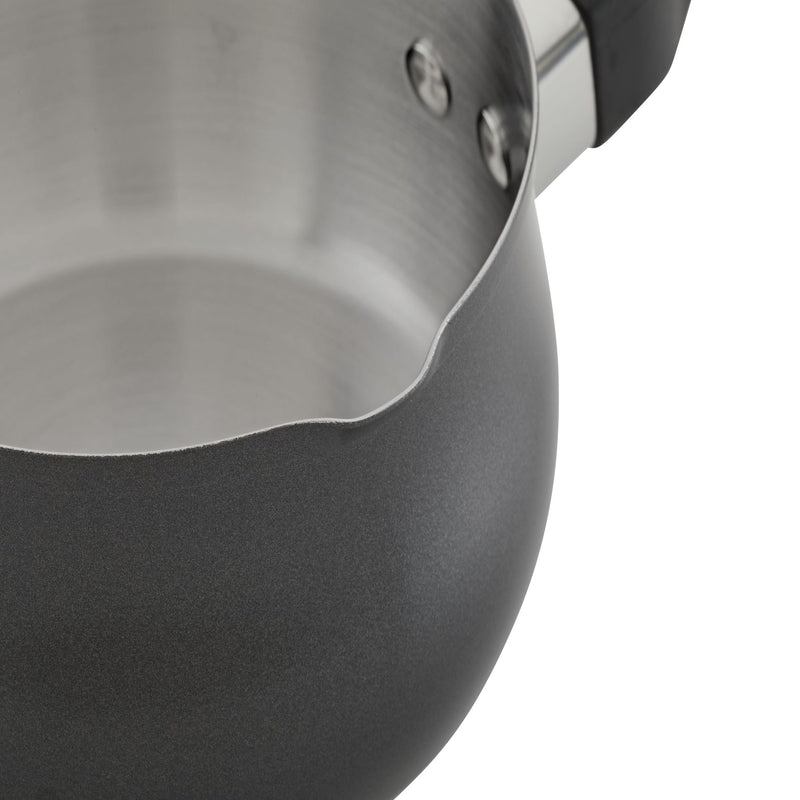120 Limited Edition Stainless Steel 1-Quart Saucepan with Pour Spouts