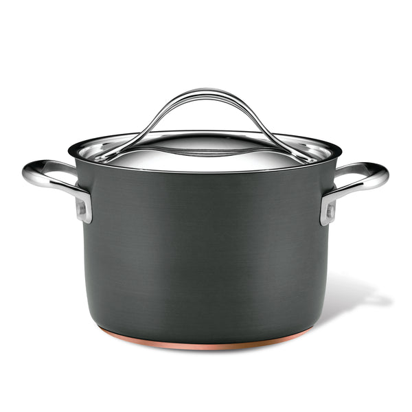 Nouvelle Copper 4-Quart Soup Pot
