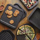 Stone Quartz Nonstick 12-Inch Square Baking Sheet