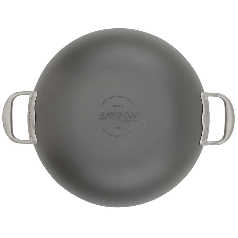 Allure 12-Inch Wok with Side Handles