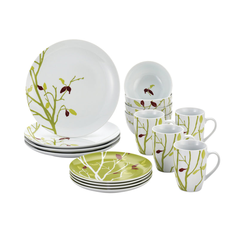 Seasons Chainging 16-Piece Porcelain Dinnerware Set