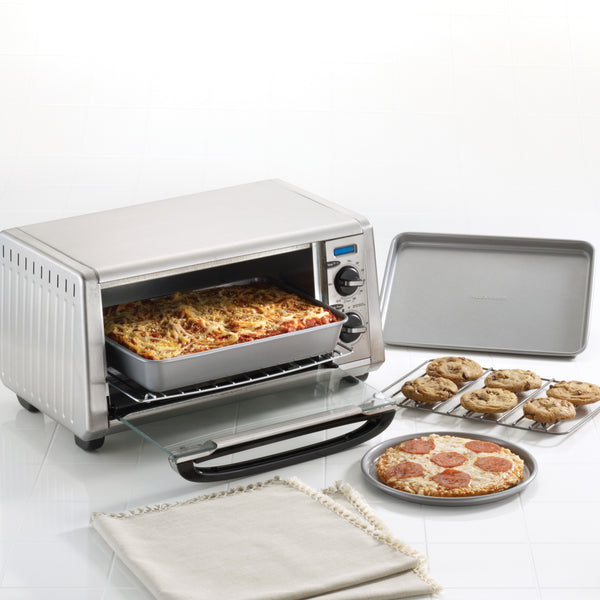 4-Piece Toaster Oven Bakeware Set