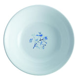 Indigo Blossom 10-Inch Round Serving Bowl