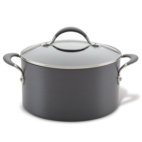 Hard Anodized 6-Quart Stockpot