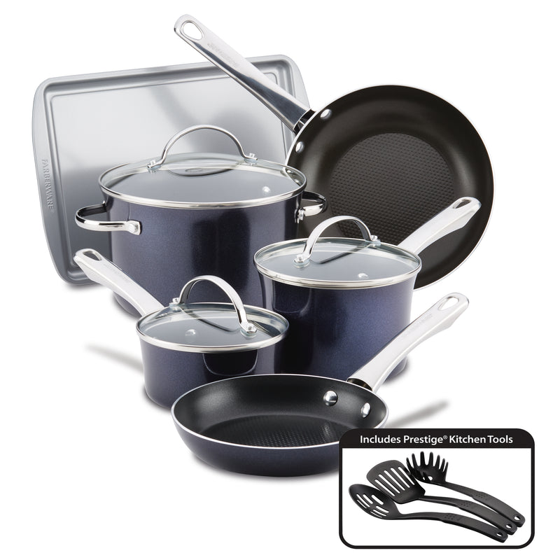 Luminescence 12-Piece Nonstick Cookware Set